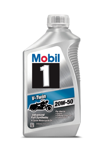Mobil 1™ V-Twin 20W-50